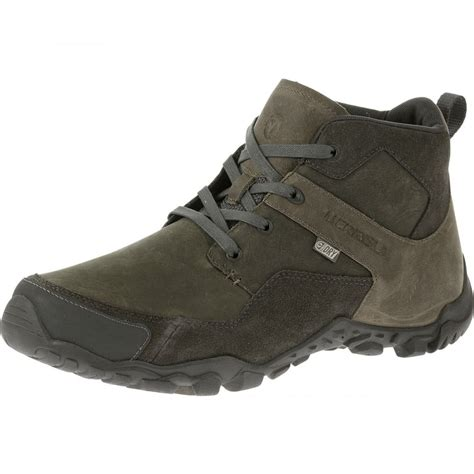mens waterproof boots uk merrell telluride mid waterproof mens boot footwear from