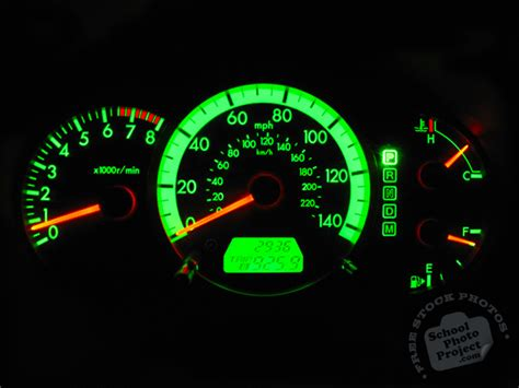 green light auto credit st charles dashboard free stock photo image picture lighted car