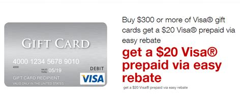 Visa Gift Card Deal - staples visa gift card deal 10 19 10 25 free money