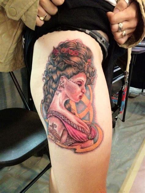 greek goddess tattoo done by desiree mattingly at tattoo