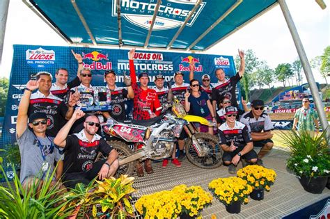 pro motocross results 2016 pro motocross ironman national results roczen cruises