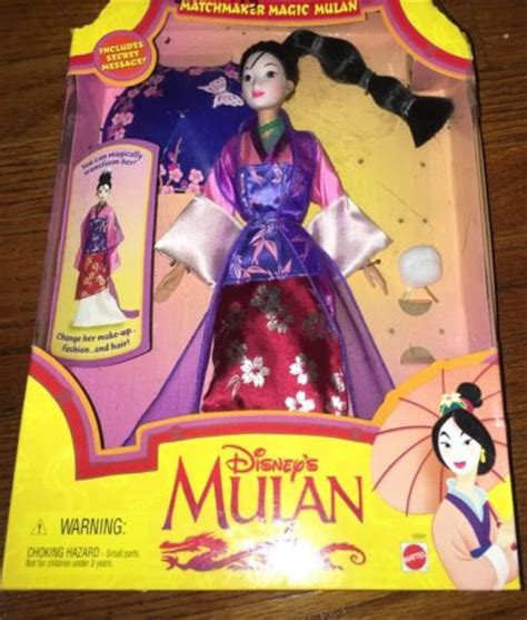 1997 Doll By Mattel by 1997 Disney Matchmaker Magic Mulan Doll By Mattel