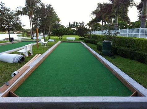 Build Bocce Court Backyard by How You Can Develop A Backyard Bocce Court Top Bocce