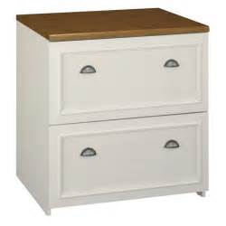 Two Drawer File Cabinet Fairview 2 Drawer Lateral Wood File Cabinet In White Wc53281 03