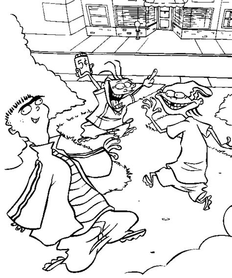 Ed Edd N Eddy Color Page Coloring Pages For Kids Cartoon | ed edd n eddy coloring pages coloringpagesabc com