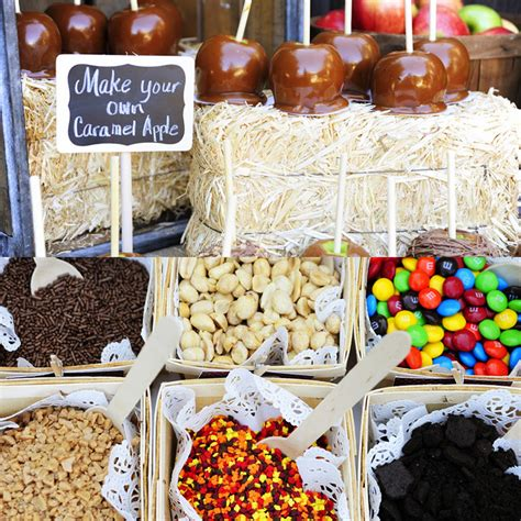 caramel apple bar toppings 10 food bar ideas that you will love caterers warehouse inc