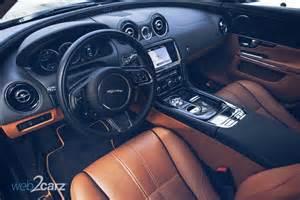 Jaguar Xjl Interior 2014 Jaguar Xjl Portfolio Awd Web2carz