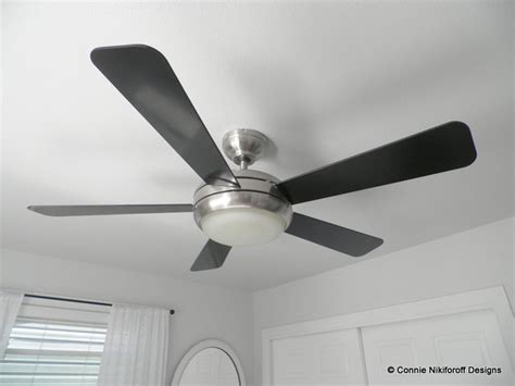 ceiling fan in master bedroom restful master bedroom modern ceiling fans other metro by connie nikiforoff