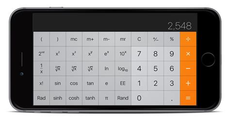 calculator iphone how to use your iphone s built in scientific calculator