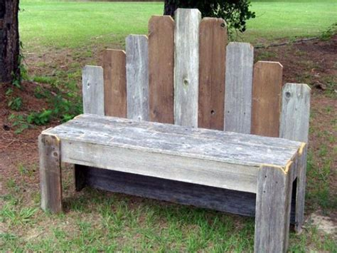 diy pallet outdoor rustic bench pallet furniture diy 50 diy pallet furniture ideas diy joy