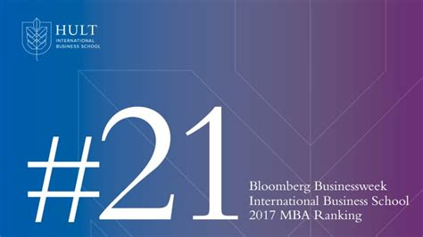 Bloomburg 2017 Mba by Bloomberg Ranks Hult 21st For Best International Mba