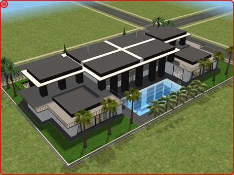 the sims 2 house designs sims 2 modern house by ramborocky on deviantart