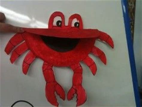 Paper Plate Crab Craft - 25 best ideas about crab crafts on paper