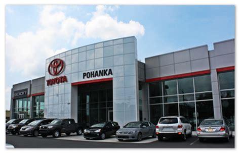 Toyota Dealers In Maryland Pohanka Toyota Salisbury Md