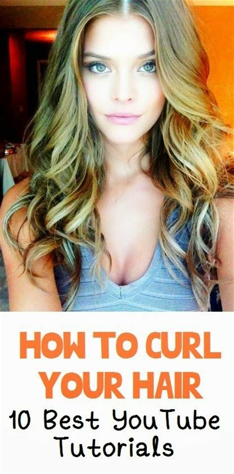 how to curl loose curls on a side ethnic hair how to curl your hair 10 best video tutorials style