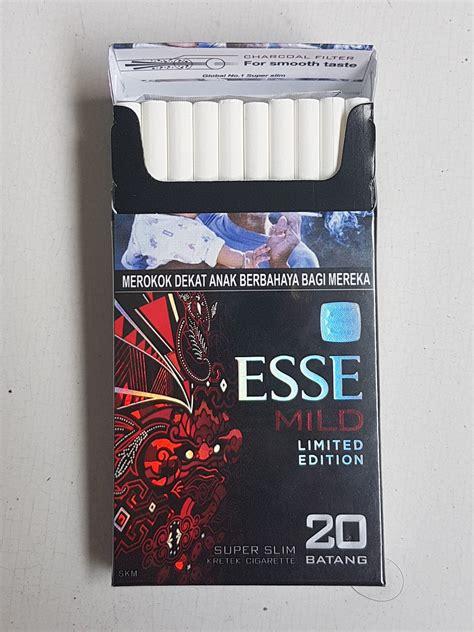 Esse Mild Slim 20 esse mild limited edition skm ltln superslims pertama