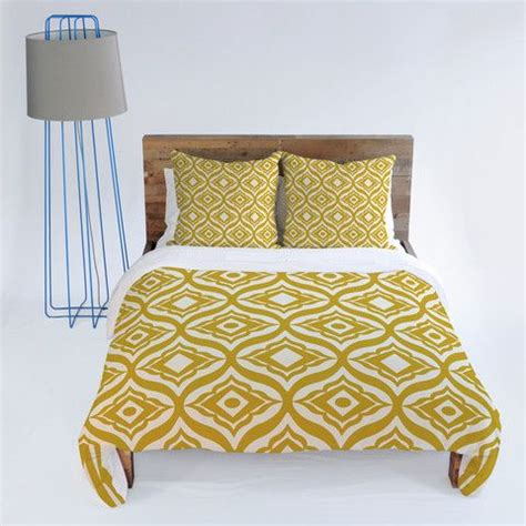 Mustard Bedding by Dutton Trevino Yellow Duvet Cover Yellow Duvet