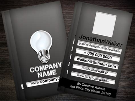 Software Developer Business Card Template by Software Engineer Web Mobile Developer Business Card