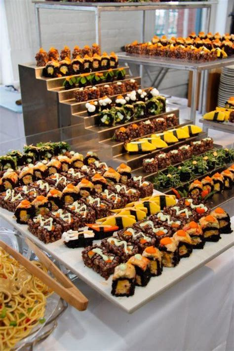 catering ideas 25 best ideas about sushi catering on food