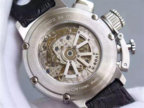 u boat replica watches review replica u boat u 51 chimera left handed watch tough