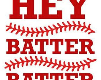 hey batter batter hey batter batter swing lyrics hey batter batter etsy