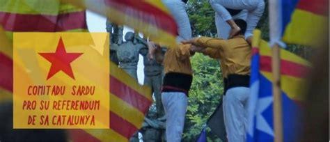 consolato spagnolo un comitato sardo pro referendum catalano manifestazione