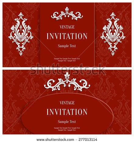 3d invitation card template invitation stock images royalty free images vectors