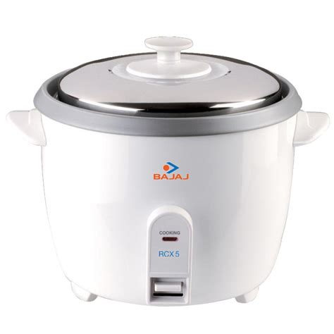 Rice Cooker 5 Liter bajaj rcx 5 1 8 litre rice cooker rs 1288