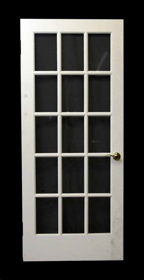 15 Glass Panel Interior Doors 15 Glass Panel White Door Olde Things