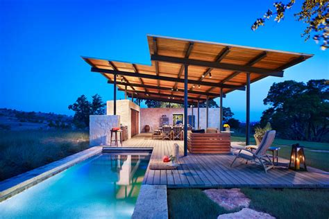 2 story house with pool beautiful story pool house by lake flato architects