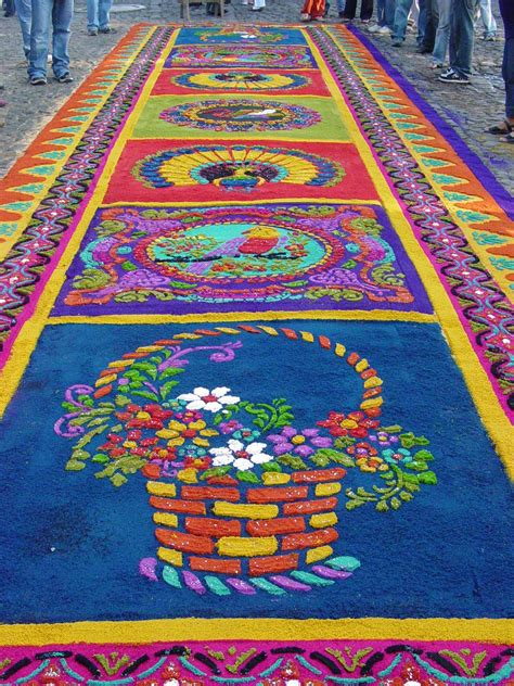 alfombras semana santa guatemala guatemala en fotografia tradiciones alfombras de semana