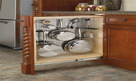 kitchen cabinet pot and pan organizers custom kitchen cabinet organizers kitchen cabinet