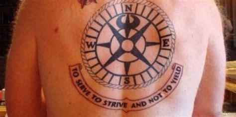 fancy compass tattoos