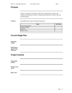 end of project report template end of templates and projects on