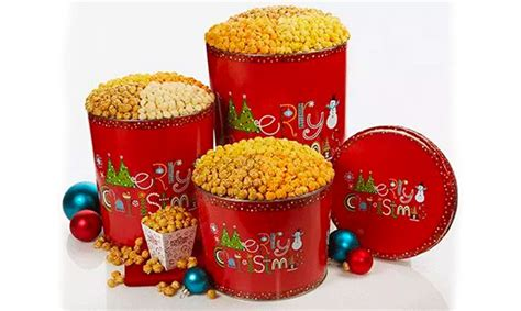Enter To Win Christmas Money - enter to win popcorn factory merry christmas popcorn tins get it free
