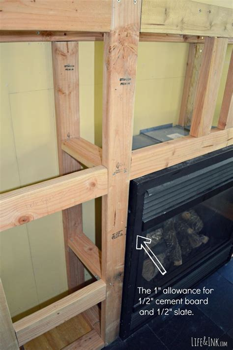 pin  annettte lee  house ideal diy fireplace