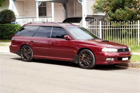 custom subaru legacy wagon subaru legacy liberty gt b red australia cars