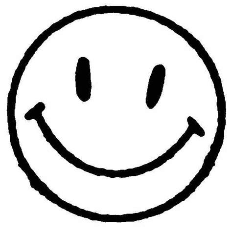 black and white smiley face clip art very happy face clipart best