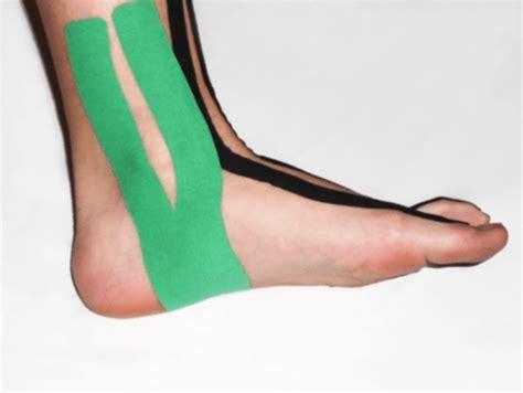 interno caviglia taping per la caviglia protape