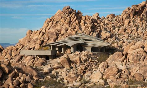 Dining Room Furniture Modern one with the desert staggering residence in joshua tree