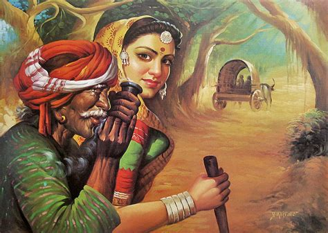 indian painting photo artistic indian paintings