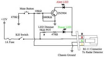 diy radar detector hardwire with smartcord functions passport 8500 x50 nasioc
