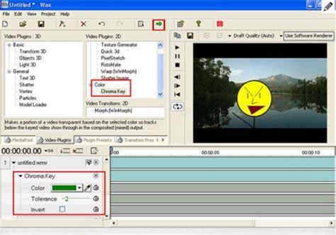 best chroma key software green screen software edit green screen