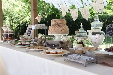 kara s party ideas sweet table from a vintage shabby chic
