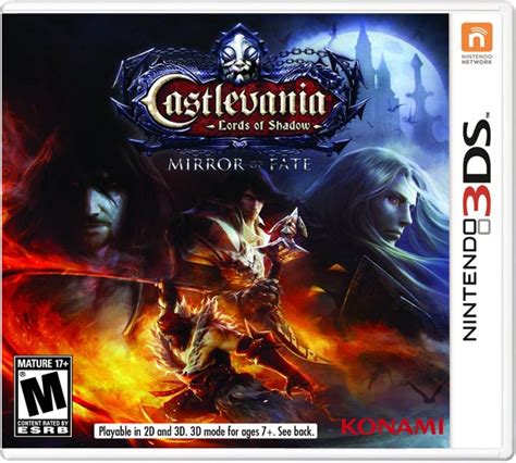 Kaset Castlevania Of Shadow Mirror Of Fate 3ds castlevania of shadow mirror of fate cia