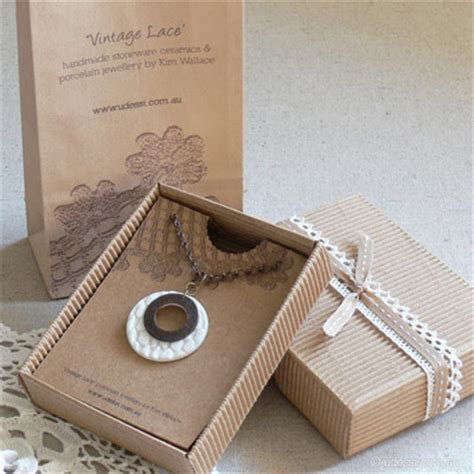 Handmade Jewelry Packaging - bondville hip products wallace ceramic jewellery