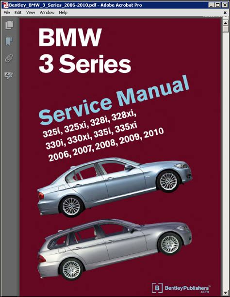 service repair manual free download 2005 bmw 745 parking system bentley bmw 3 series e90 e91 e92 e93 service manual 2006 2010