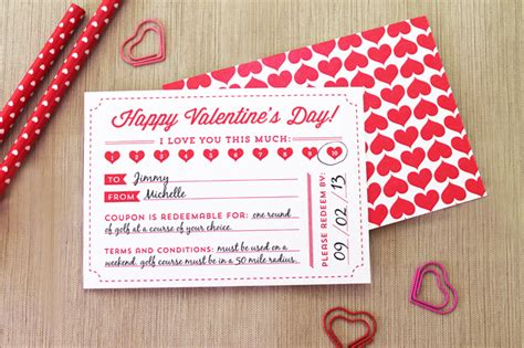 Handcrafted Card Company Voucher Code - printable s day coupons inspiration diy