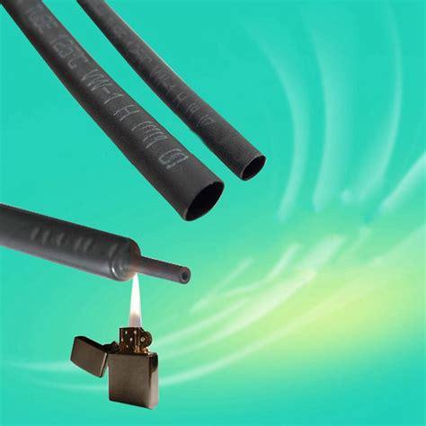 Hair Dryer On Heat Shrink Tubing buy 2mm 3mm 4mm 5mm khxc 1m insulation heat shrink tubing