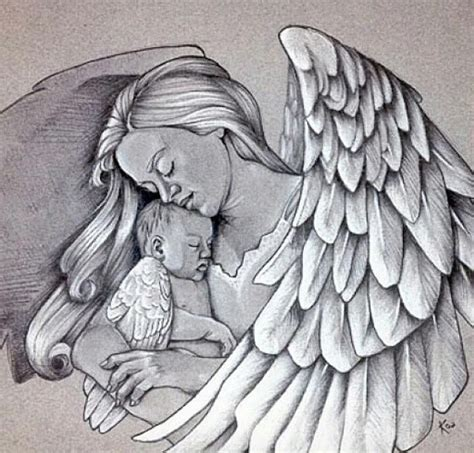 tattoo angel holding baby 17 best images about baby loss angel babies on pinterest